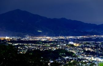 高麗山公園展望台